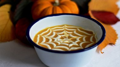 Halloween Roasted Pumpkin Soup