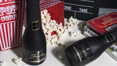 National Popcorn Day (with cava, obviously)