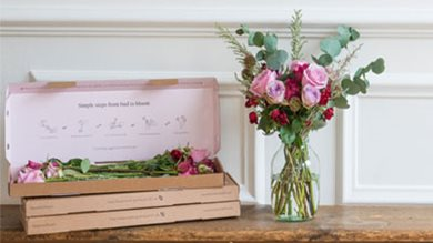 WIN 3 months flower delivery & fizz this V-Day!