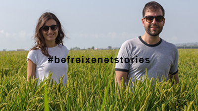 #befreixenetstories: Lara & Eduardo from Hola Foodie