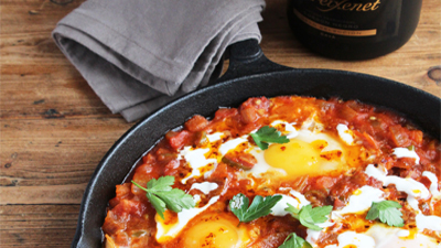 Brunch is up: Sujuk Menemen